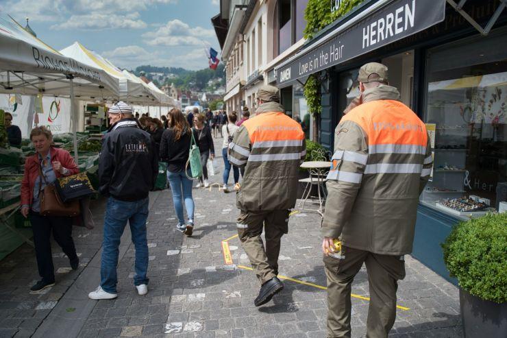 ZSOpilatus als Teil des Luzerner Wochenmarktes