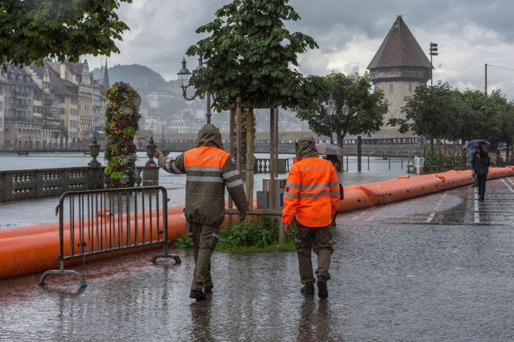 Hochwasser 2021 - Einsatz gegen die Wassermassen