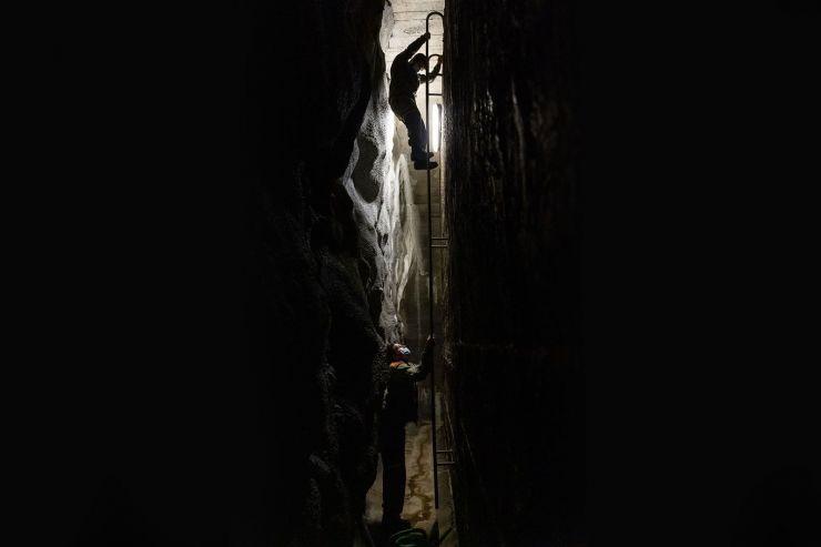 Auf Revision im Untergrund – ein Arbeitstag mit dem Anlagedienst des ZSOpilatus