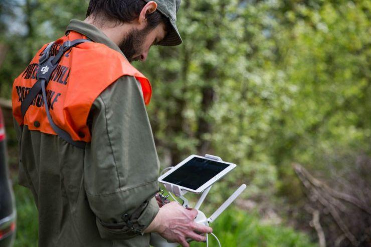 ZSOpilatus testet den Einsatz von Drohnen
